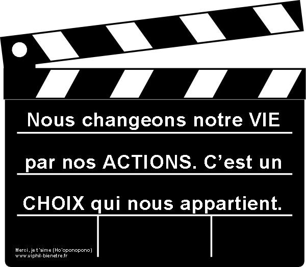 Choix action
